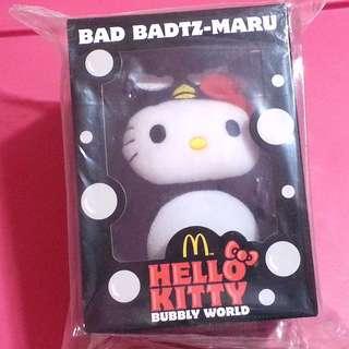 [CLEAR] McDonald's Hello Kitty Badtz-Maru Toy