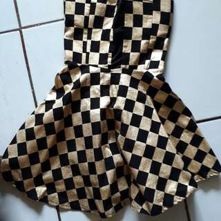 Dress Gold Mini
