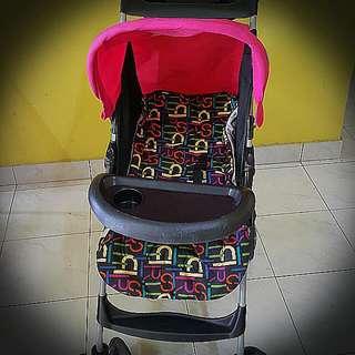 MamaLove Stroller with Epirit Stroller Pad