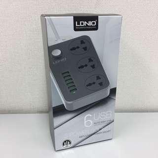 ( 全新 ) LDNIO 3 Power Socket + 6 USB 3.4A