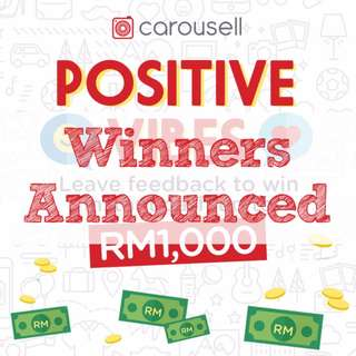 Positive Vibes Giveaway