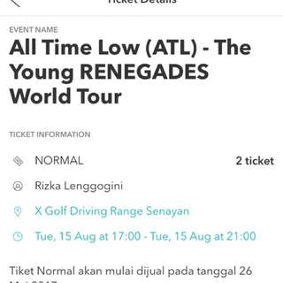 TIKET ALL TIME LOW