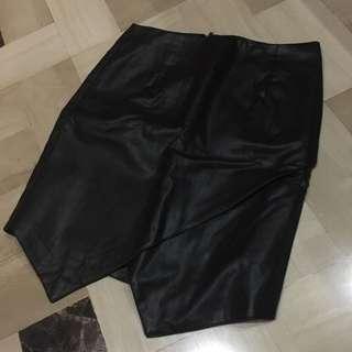 Bardot Leather Skirt (Australia Brand)