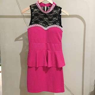 Peplum Dress Korean