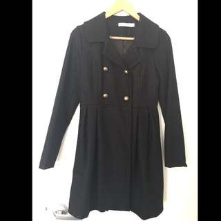 Black Winter Coat Size 8 Quirky Circus Brand