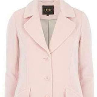 **REDUCED Baby Pink Luxe Coat