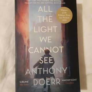All The Light We Cannot See - Anthony Doer