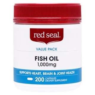 【紐西蘭代購】Red Seal 天然魚油 (1000mg/1500mg)