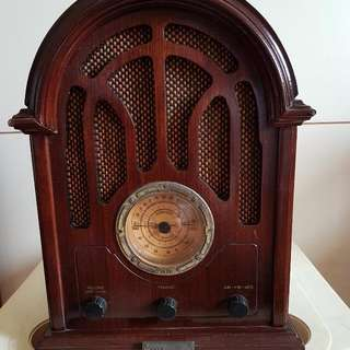 Classic Collectors Edition of 1934 replica radio.