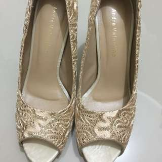 High Heel / Open Toe / Stiletto / Wedding Shoes