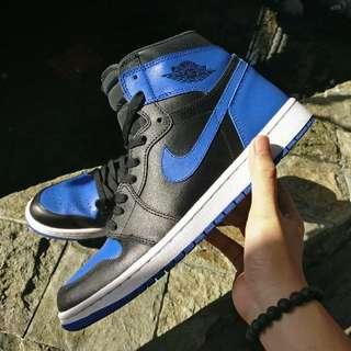 Nike Air Jordan 1 Royal Blue 2013 UA