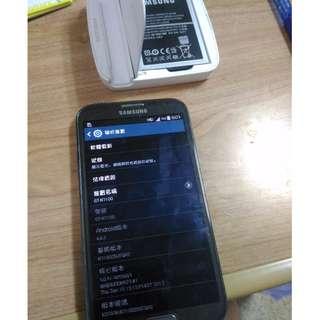 SAMSUNG 三星 NOTE2 N7100 灰