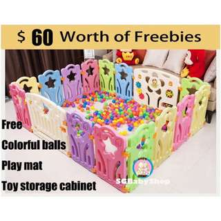 ★LOWEST PRICE★ DIY Safety Play Pen for baby/playpen / Play Yard / playyard Safety fence offer price