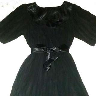 Lolita Black Night Dress