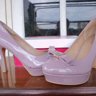 Vicari Purple Heels
