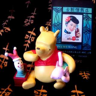 Vintage Year 2000 Disney Winnie The Pooh -- Piglet's Jack - in - the - Box Keepsake Ornament By Hallmark  ( Classic Pooh Collection ) 3.5 cm x 6 cm