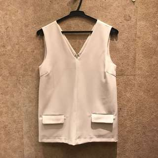 Zalora White Top