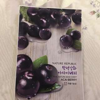 Nature Republic Acai Berry Mask