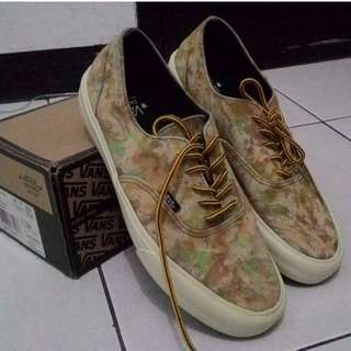 VANS ERA CA CAMO BROWN USED