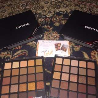 READYSTOCK MORPHE PALETTE; Copper Spice And Bronzed Mocha