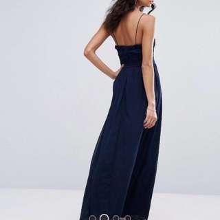 Navy Ball Dress Size 6