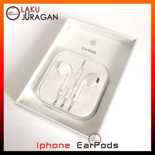 Headset Iphone 5 5G 5S 5C 6 6 Plus Apple Earpods Earphone Original