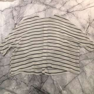 Stripped Ladies Top