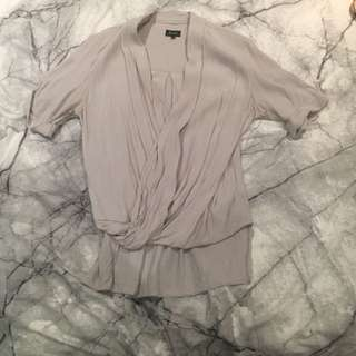 Bardot Cross Over Blouse