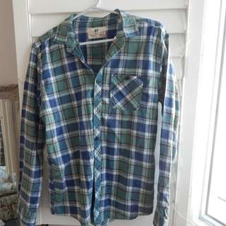 Flannel shirt Size S