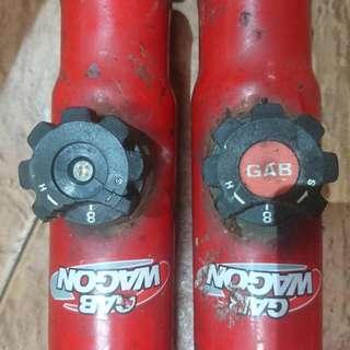 Gab wagon 8 Step adjustable absorber