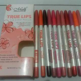 True Lips By Me Now.pensil Garis Bibir