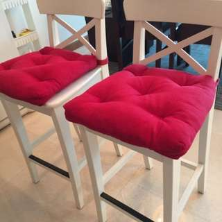 Bar Stools ( Cushion Not Included )