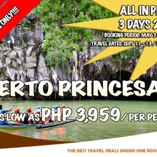 3 Days 2 Nights Puerto Princesa