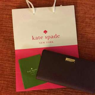 Original Kate Spade Newbury Lane Stacy Clutch Wallet