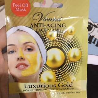 Viena Anti Aging Face Mask (luxurious Gold)
