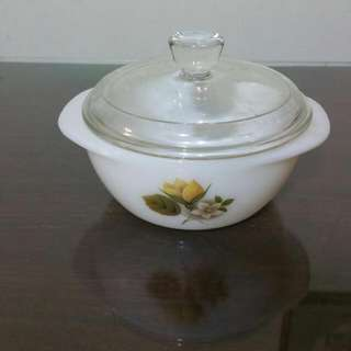 Vintage JAJ Autumn Glory Mini Casserole