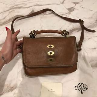 Mulberry Tas Selempang Brown Leather