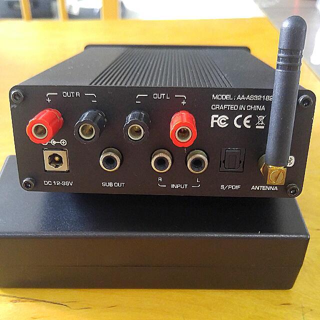 Sure 2x100 Watt Class D Bluetooth Amplifier TDA 7498