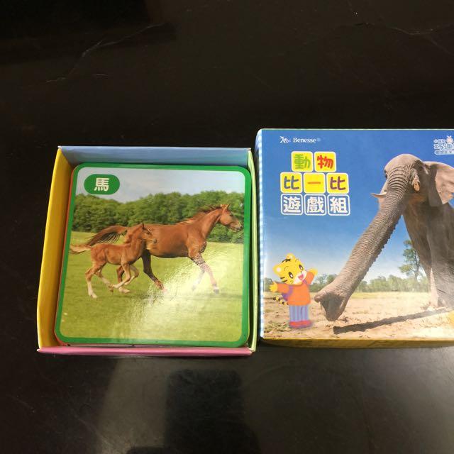 巧虎動物比一比遊戲組