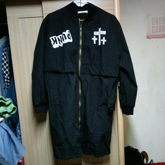 韓國長版外套