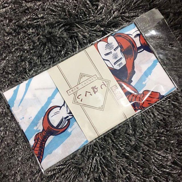 [全新] Marvel Iron man 鋼鐵人 日本限定製波富士海浪 布簾