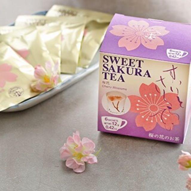 日本櫻花茶 Sweet Sakura Tea