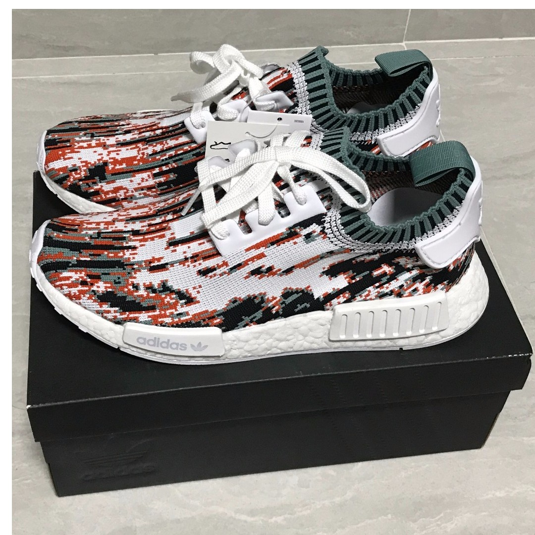 f0ba415317196 Adidas NMD Datamosh Sneakersnstuff Us8.5 Collegiate Orange