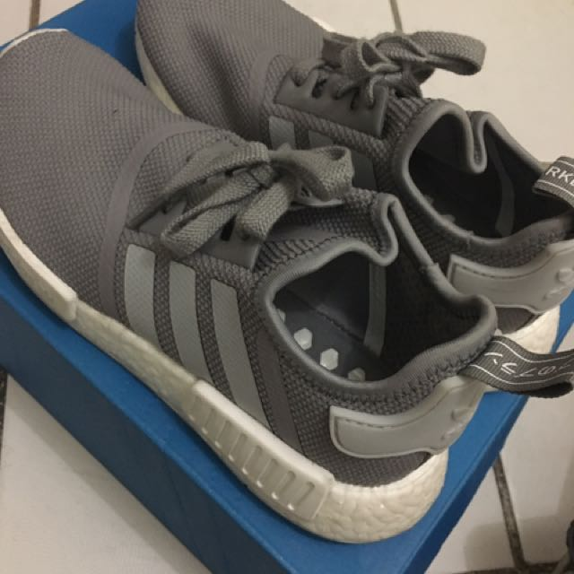 adidas nmd r1 j gray size 6 US