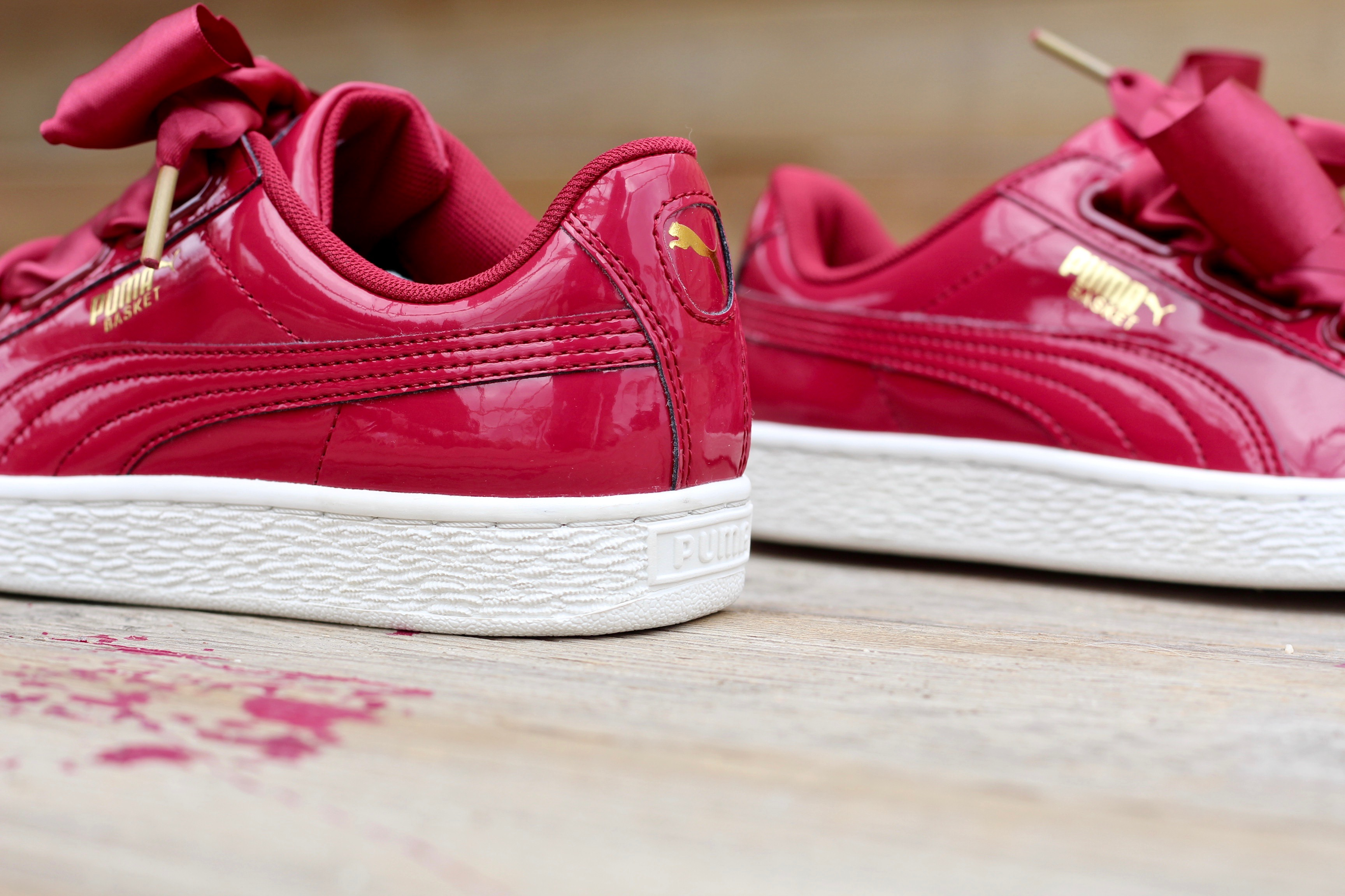 Trainers Puma SizesBn Authentic Women's Heart All Patent Basket FK1cJTl