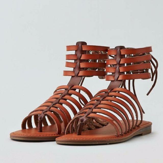 AMERICAN EAGLE 美麗繞帶涼鞋