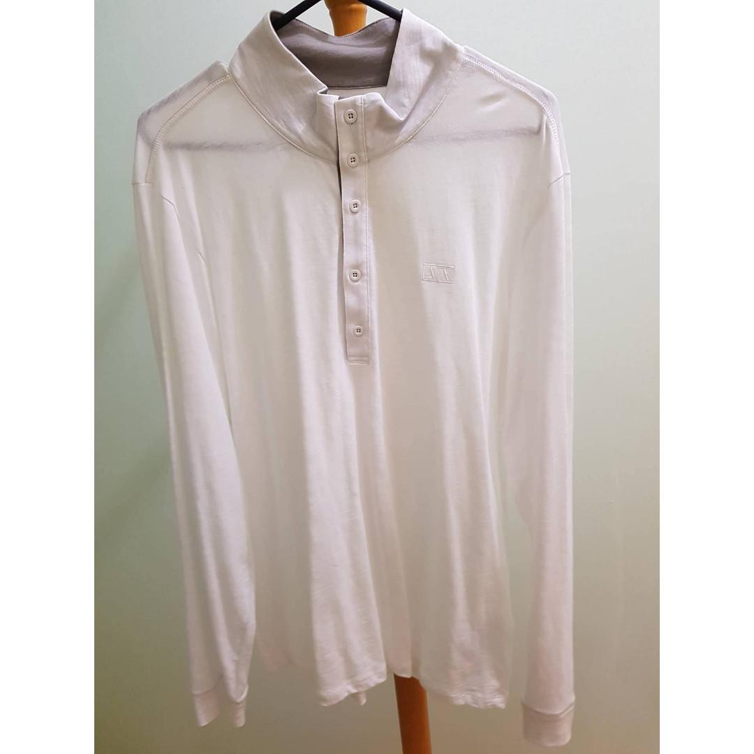 Armarni Exchange Shirt Long Sleeve Shirt