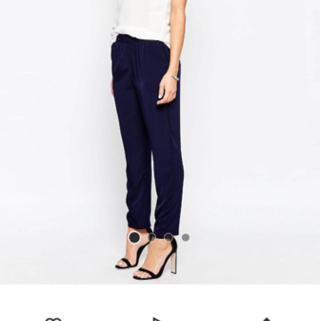 ASOS Navy jogger Trousers