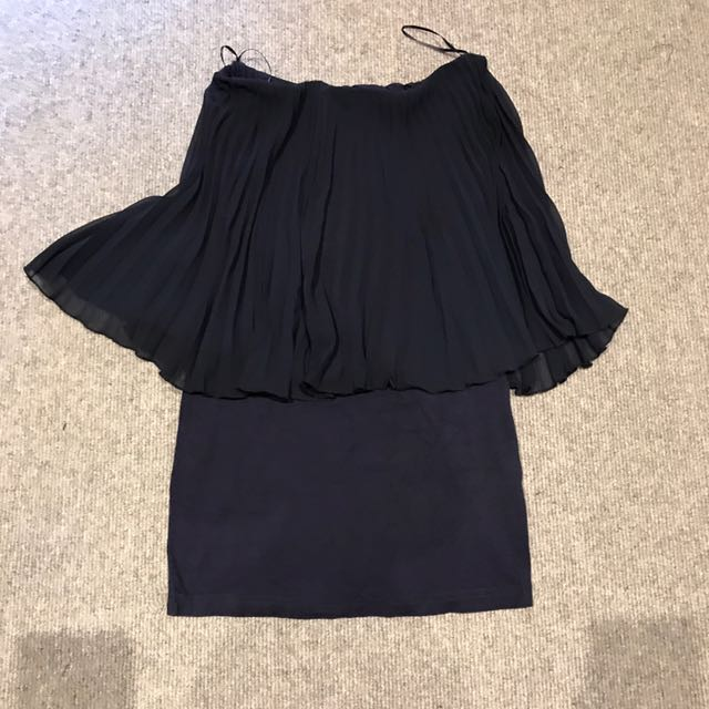 Asos Petite Navy Tube Dress