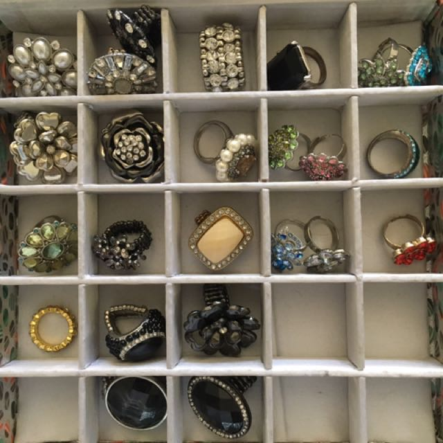 Assortment Of Costume Rings